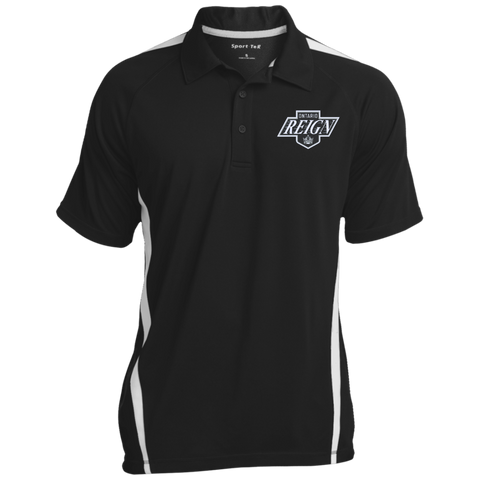 Ontario Reign Mens Custom Colorblock 3-Button Polo