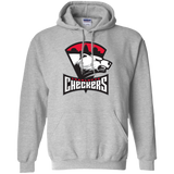 Charlotte Checkers Primary Logo Adult Pullover Hoodie