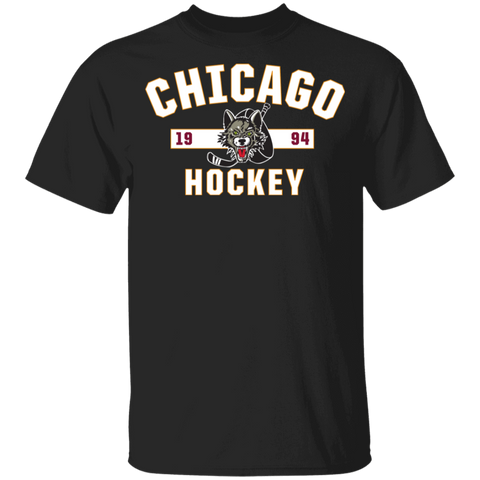 Chicago Wolves Youth Established Short Sleeve T-Shirt