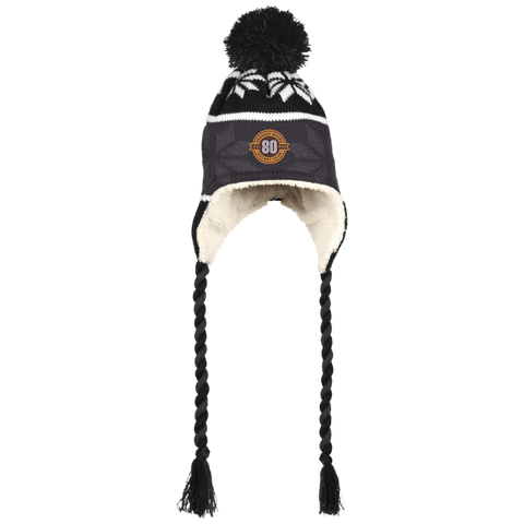 Hershey Bears 80th Anniversary Hat with Ear Flaps and Braids