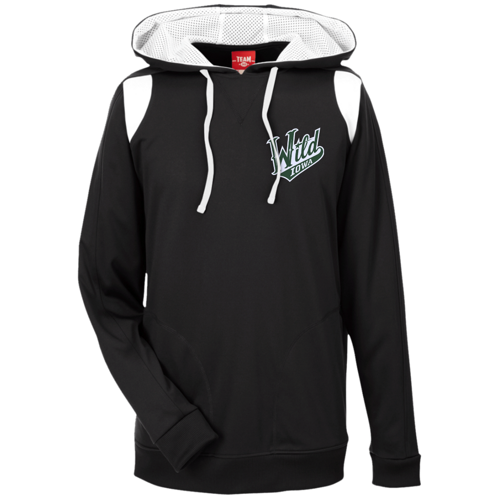 Iowa Wild Team 365 Colorblock Poly Hoodie