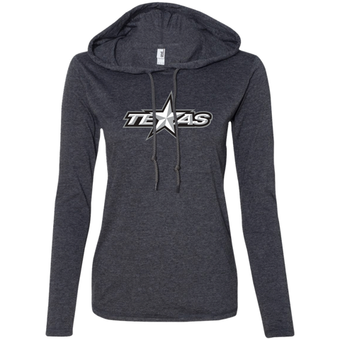 Texas Stars Ladies Long Sleeve T-Shirt Hoodie