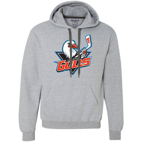 San Diego Gulls Primary Logo Adult Heavyweight Pullover Fleece Sweatshirt
