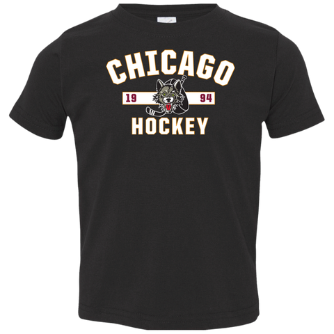 Chicago Wolves Toddler Established Short Sleeve T-Shirt
