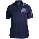 Hartford Wolf Pack Micropique Sport-Wick Piped Polo