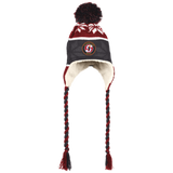 Stockton Heat Winter Hat with Ear Flaps and Braids