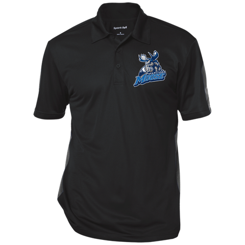 Manitoba Moose Performance Textured Three-Button Polo