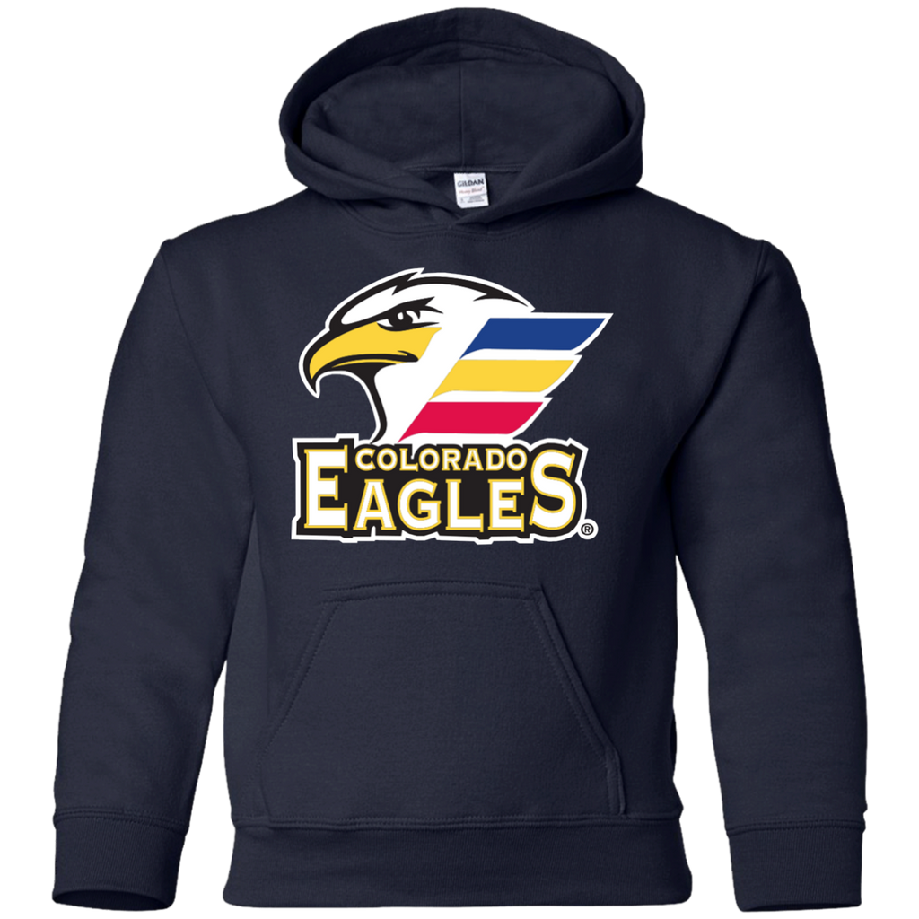 Colorado Eagles Primary Logo Youth Pullover Hoodie – ahlstore.com 80f2ce3fb