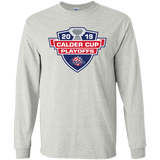 Rochester Americans 2019 Calder Cup Playoffs Youth Long Sleeve T-Shirt