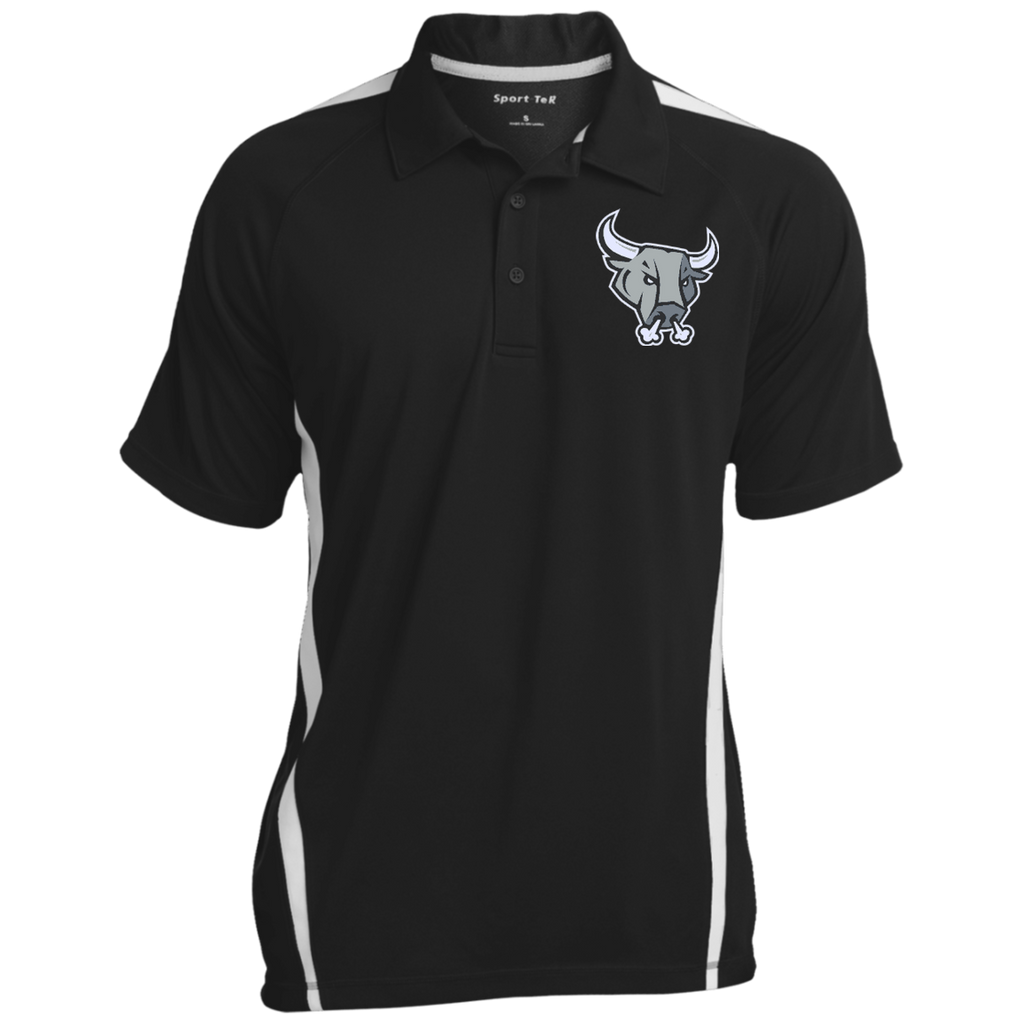 San Antonio Rampage Mens Colorblock 3-Button Polo