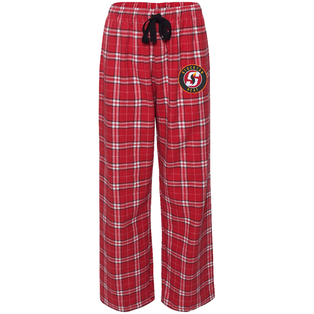 Stockton Heat Adult Embroidered Flannel Pants