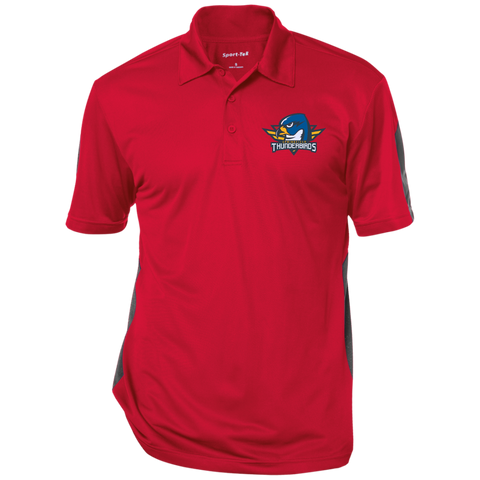 Springfield Thunderbirds Performance Textured Three-Button Polo