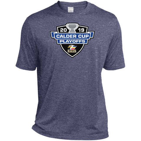Colorado Eagles 2019 Calder Cup Playoffs Adult Heather Dri-Fit Moisture-Wicking T-Shirt