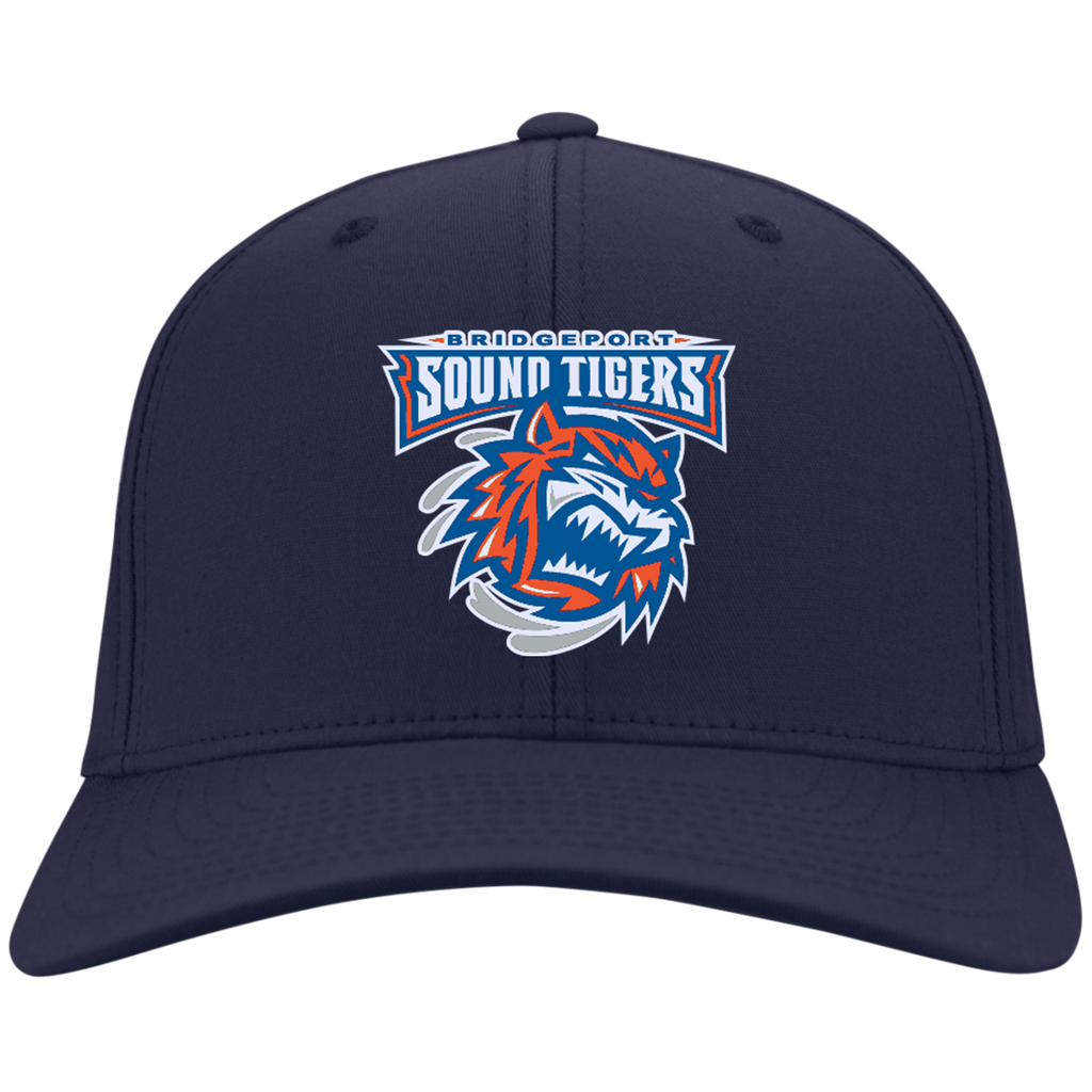 Bridgeport Sound Tigers Dry Zone Nylon Cap