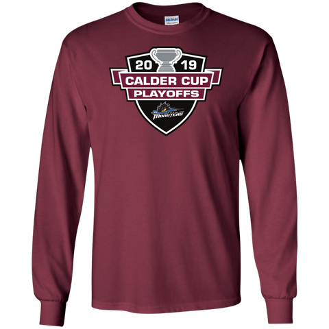 Cleveland Monsters 2019 Calder Cup Playoffs Adult Long Sleeve Cotton T-Shirt