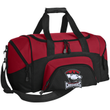 Charlotte Checkers Small Colorblock Sport Duffel Bag