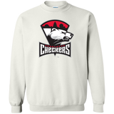 Charlotte Checkers Primary Logo Adult Crewneck Pullover Sweatshirt