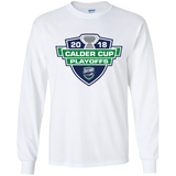 Utica Comets Adult 2018 Calder Cup Playoffs LS Ultra Cotton T-Shirt