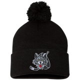 Chicago Wolves Pom Pom Knit Cap