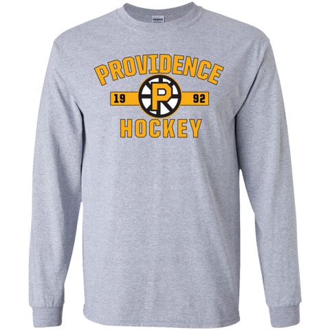 Providence Bruins Youth Established Long Sleeve T-Shirt
