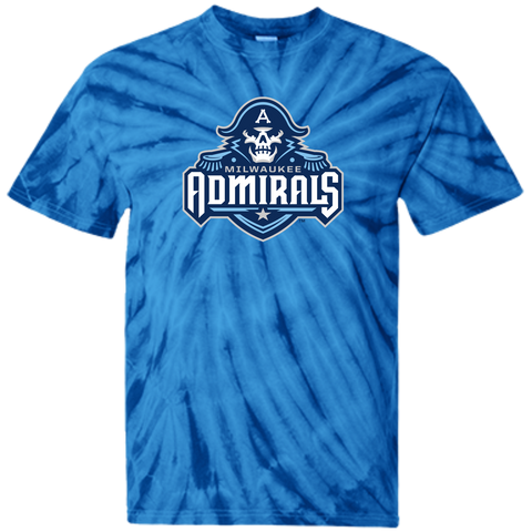 Milwaukee Admirals Youth Tie Dye T-shirt