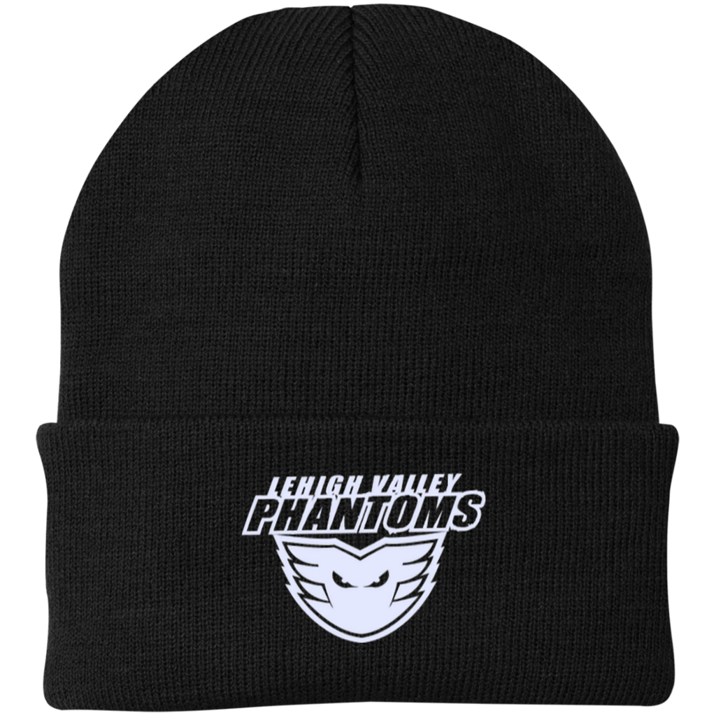 Lehigh Valley Phantoms Knit Cap (White Logo)