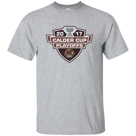 Hershey Bears Adult 2017 Calder Cup Playoffs Short Sleeve T-Shirt