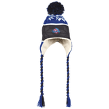 Rochester Americans Winter Hat with Ear Flaps and Braids
