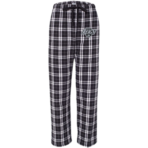 Ontario Reign Youth Custom Embroidered Flannel Pants