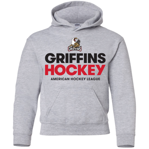 Grand Rapids Griffins Youth Pullover Hoodie