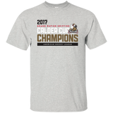 Grand Rapids Griffins 2017 Calder Cup Champions Adult Athleitc Short Sleeve T-Shirt