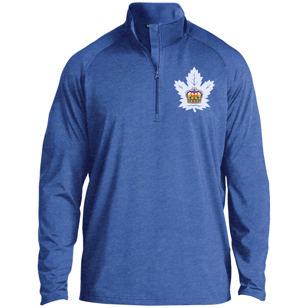 Toronto Marlies Adult Half Zip Raglan Performance Pullover