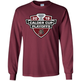 Chicago Wolves 2019 Calder Cup Playoffs Youth Long Sleeve T-Shirt