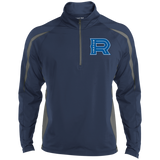 Laval Rocket Men's Sport Wicking Colorblock 1/2 Zip
