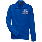Hartford Wolf Pack Youth Embroidered Fleece Full Zip