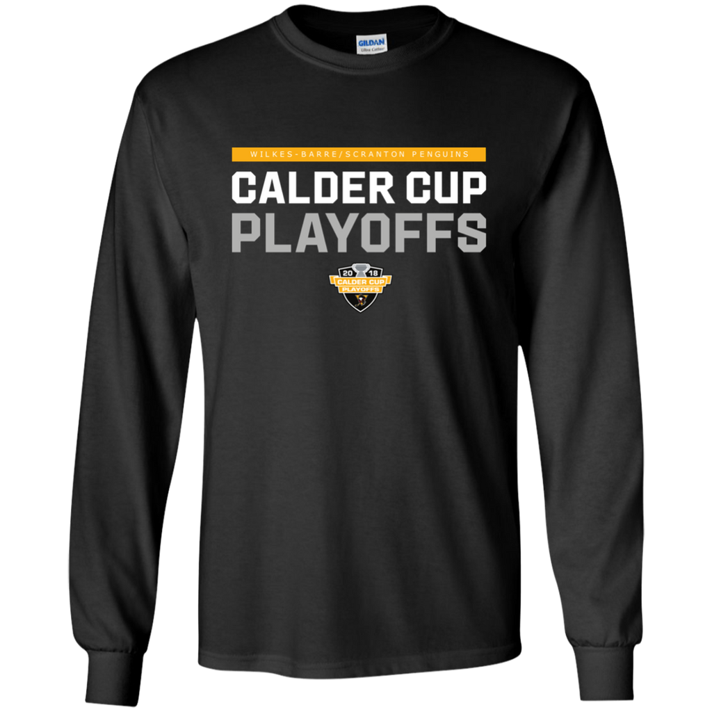 Wilkes-Barre/Scranton Penguins Youth 2018 Postseason Long Sleeve T-Shirt