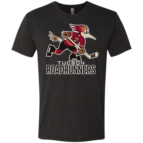 Tucson Roadrunners Primary Logo Next Level Men's Triblend T-Shirt