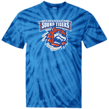 Bridgeport Sound Tigers Adult Cotton Tie Dye T-Shirt