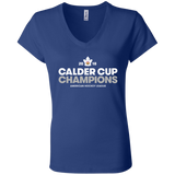 Toronto Marlies 2018 Calder Cup Champions Crown Ladies' Jersey V-Neck T-Shirt