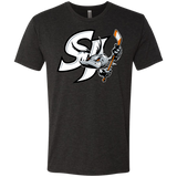 San Jose Barracuda Primary Logo Next Level Men's Triblend T-Shirt