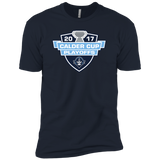 Milwaukee Admirals Adult 2017 Calder Cup Playoffs Next Level Premium Short Sleeve T-Shirt