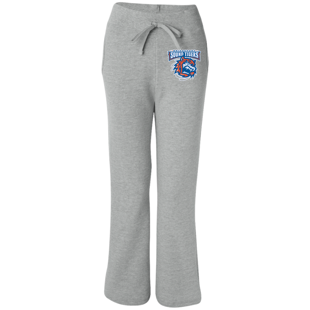 Bridgeport Sound Tigers Women's Open Bottom Sweatpants with Pockets