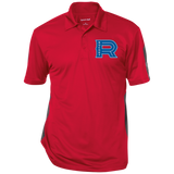 Laval Rocket Performance Textured Three-Button Polo