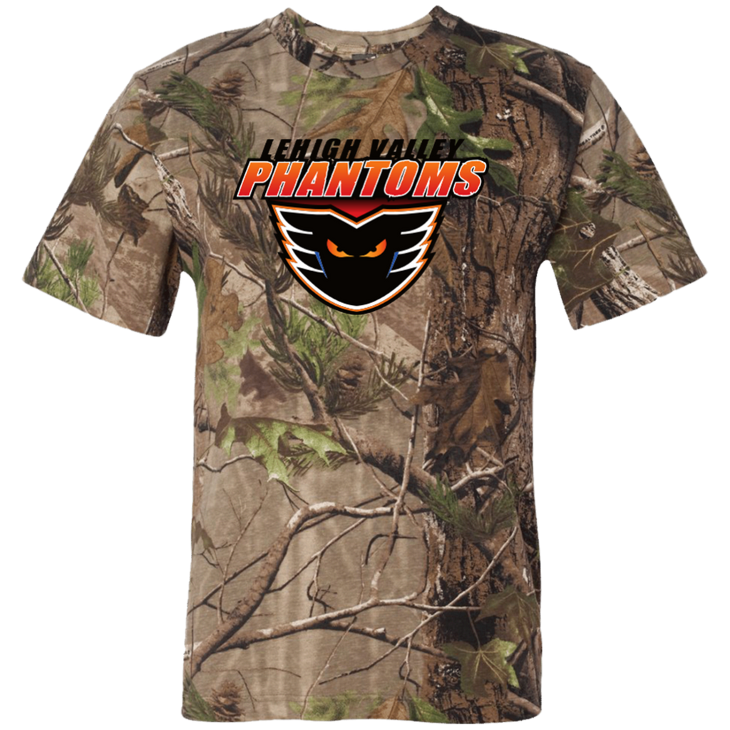 Lehigh Valley Phantoms Adult Short Sleeve Camouflage T-Shirt