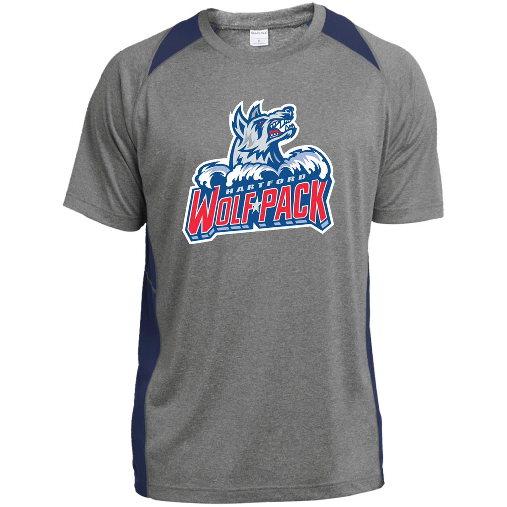Hartford Wolf Pack Youth Colorblock Performance T-Shirt