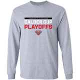 Charlotte Checkers 2018 Post-Season Adult Long Sleeve T-Shirt