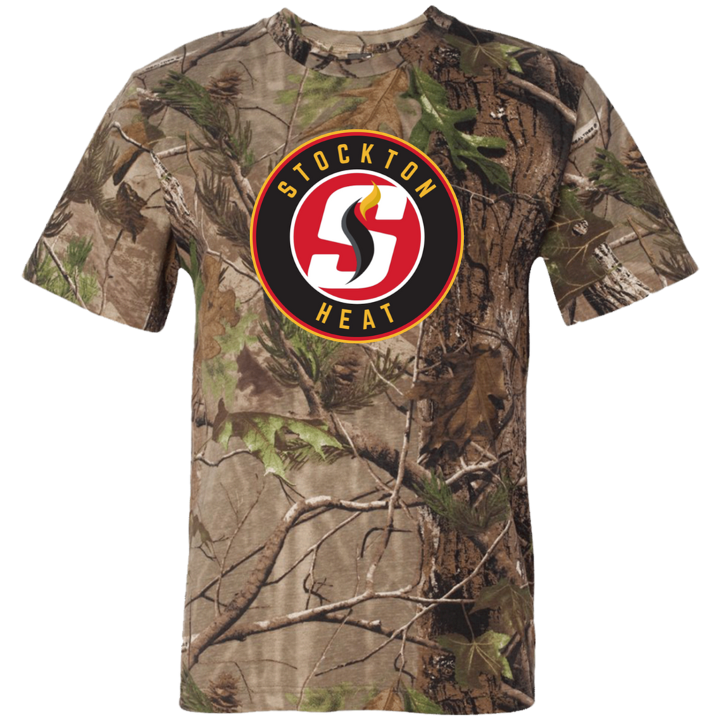 Stockton Heat Adult Short Sleeve Camouflage T-Shirt