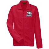 Charlotte Checkers Youth Embroidered Fleece Full Zip