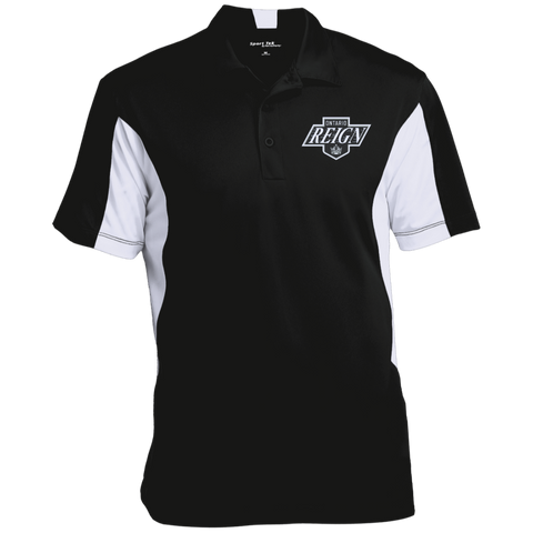 Ontario Reign Men's Colorblock Performance Polo