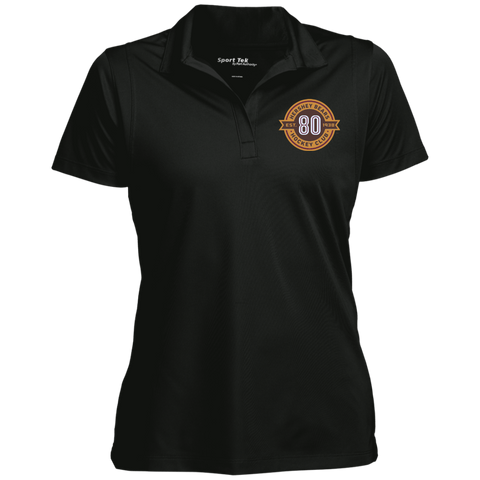 Hershey Bears 80th Anniversary Women's Micropique Tag-Free Flat-Knit Collar Polo